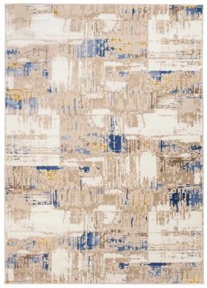 Dywan ASTHANE  D684M WHITE/DARK BLUE