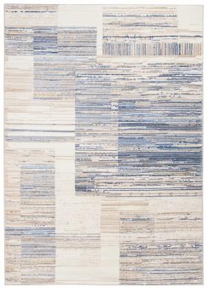 Dywan ASTHANE  G498M WHITE/DARK BLUE