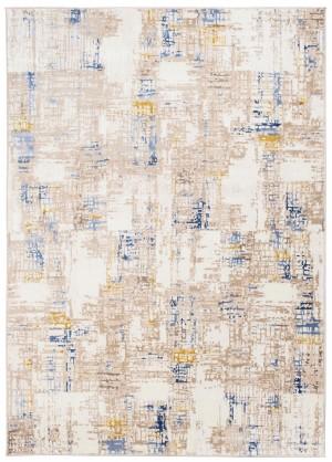 Dywan ASTHANE  D686M WHITE/DARK BLUE