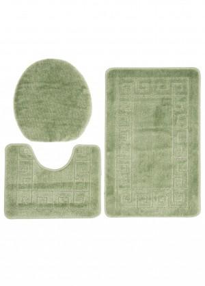 Dywan (GRECKI)  1030 GREEN (4605) MONO 3PC