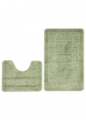 Dywan (GRECKI)  1030 GREEN (4604) MONO 2PC