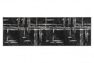 Chodnik do przedpokoju 15744/10755 LAILA CHODNIK czarny