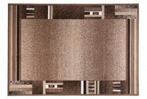 Dywan nowoczesny SCARLET 70877/10833 DO SALONU DO PRZEDPOKOJU jasno-brązowy