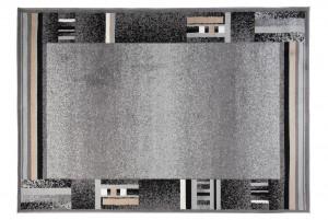 Dywan nowoczesny SCARLET 70777/10744 DO SALONU DO PRZEDPOKOJU szary