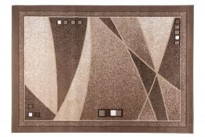 Dywan nowoczesny SCARLET 70860/10834 DO SALONU DO PRZEDPOKOJU jasno-brązowy