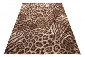 Dywan nowoczesny SCARLET 70859/10845 WZORY ZWIERZĘCE PANTERKA jasno-brązowy