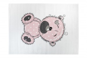 Dywan dziecięcy PINKY Miś różowy